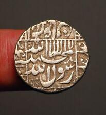 I48-12  Mughals, Shah Jahan 1628-1658AD, builder of the Taj Mahal, silver rupee