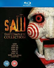 SAW The Complete Collection BOX 7 BLURAY in Inglese NEW .cp