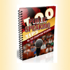"100 Public Speaking Tips ""eBook"" + Resell Rights"