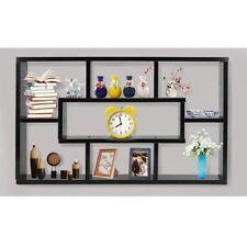 Shabby Chic Wall Shelf Display Unit Storage Vintage Cupboard Cabinet Bookshelf