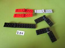 Lego Sortiment alte Scharniere Klappscharniere