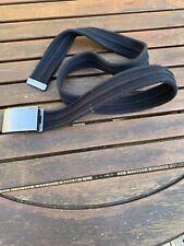Cinturón de hombre de al lado-material-Mediano-Negro