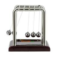 Newton's Balance Steel Ball Cradle Kinetics Science Pendulum Desk Toy Fun Gift