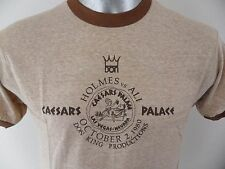 Muhammad Ali Vs Larry Holmes Caesars Palace Boxing Don King Large T Shirt NOS