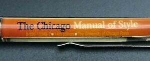 1970's ? The Chicago Manual Of Style - U of Chicago Press - Floaty Floating Pen