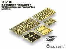 "ET Model 1/35 #E35196 German Panzerjager ""Jagdtiger"" Detail Up Set for Tamiya"