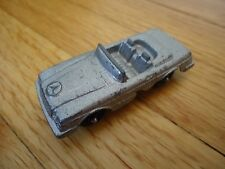 Tootsietoy Mercedes Benz 450 SL Convertible Silver Toy Car