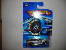 #146 HOT WHEELS 2006 FIRST EDITIONS CORVETTE C6R #25/38 SILVER FREE SHIPPING