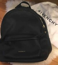 100% Authentic Givenchy Black Gold Star Studded Rubber Backpack