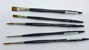 WINSOR & NEWTON ARTISTS WATERCOLOUR SABLE BRUSHES