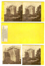 STEREOVIEW OF BLARNEY CASTLE, CO. CORK