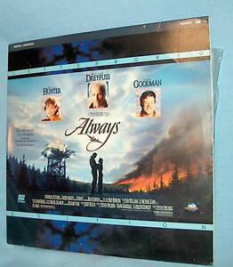 LD laserdisc ALWAYS Hunter/Dreyfuss/Goodman/Spielberg