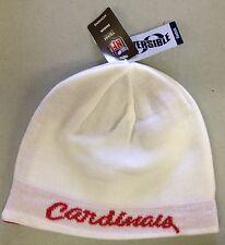 Arizona Cardinals REEBOK Womens Knit Beanie Toque Winter Hat NEW- REVERSIBLE