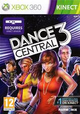 DANCE Central 3 ~ XBOX 360 Kinect gioco (in buone condizioni)