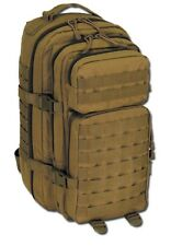 ZAINO SOFTAIR 20 LITRI ASSAULT 30328R TAN - MFH AIRSOFT TACTICAL BAG BACKPACK