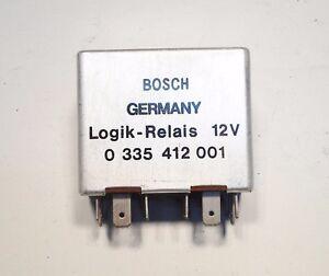 Fits PORSCHE 911 BOSCH SEAT BELT LOGIK RELAIS RELAY 0335412001/ 911.617118.00