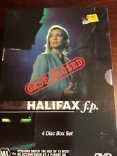 Halifax f.p. Case Closed Rebecca Gibney Like New Box Set Of 4 Dvds R4 Pal
