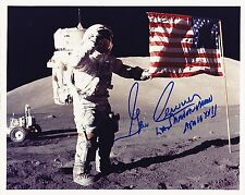 SALE. !! Apollo 17 Astronaut Gene Cernan  8x10 Signed Kodak Print of NASA