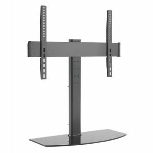 G-VO Tabletop Pedestal Bracket TV Stand LCD/LED 23 - 55 Inch Height Adjustable