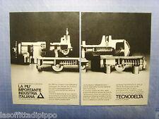 QUATTROR981-PUBBLICITA'/ADVERTISING-1981- TECNODELTA (versione A) -2 fogli
