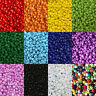 50g glass seed beads - Opaque, size 11/0 (approx 2mm) - choice of colours, craft