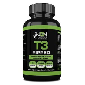 T3 RIPPED EXTREME FAT BURNER (60 CAPS) - ECA - SALE NOW ON!!!!