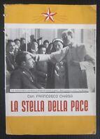 1943 LA STELLA DELLA PACE Francesco Chiesa Papa Pio XII Alba 2° guerra mondiale