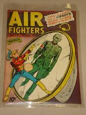 AIR FIGHTERS COMICS #6 VOL 2 VG+ (4.5) HILLMAN AIRBOY