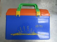 More details for millennium dome souvenir lunchbox plastic with thermos, container and strap