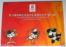 2008 CHINA BEIJING OLYMPIC Coin Folder Serie 2 Set 2