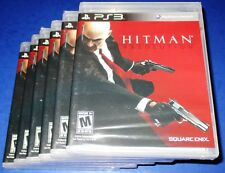 Lot of 6 Hitman: Absolution Sony PlayStation 3 *Factory Sealed! *Free Shipping!