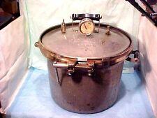 OLD VINTAGE Improved Kook-Kwick Steam Pressure Cooker #16 MODEL NO. 606-116 38