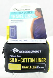 Sea to Summit Blended Silk & Cotton Travel Liner (NAVY) BRAND NEW