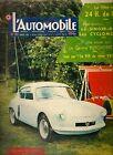 L'AUTOMOBILE 135 1957 24H DU MANS JAGUAR TYPE D SINGER GAZELLE ALPINE A106