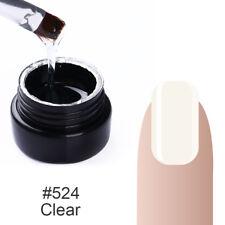 7ml UV Builder Gel For Nail Art Extend False Nail Tips Clear Quick Building Gel