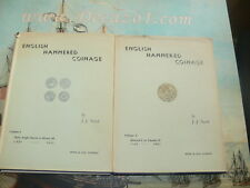 NORTH, J. J. - English Hammered Coinage. Set of 2 Volumes. First Edition.