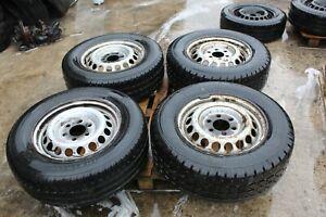 Mercedes Sprinter VW Crafter 235/65R16C Wheel plus Tyre X4 #50