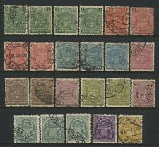 Rhodesia BSAC Collection 23 Arms Values Used