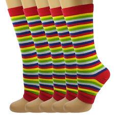 Mysocks 5 pares de calcetines de Toeless Arco Iris