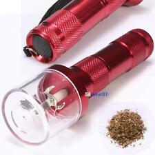 Electric Allloy Metal Grinder Crusher Crank Tobacco Smoke Spice Herb Muller J²