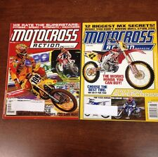 LOT OF 2 2002 MOTOCROSS ACTION MAY - JUNE 125 250 450 SHOOTOUT & LOTS MORE MXGP