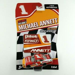 MICHAEL ANNETT NASCAR Authentics Pilot Flying J #1 2021 Wave 4  NEW