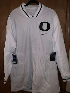 NWT $250 Nike Oregon Ducks College Player Jacket Men's Size Large AT9732-094