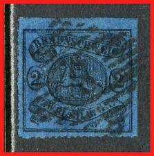 Brunswick Postage Stamp Scott 17 Used!! Bk2