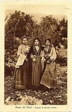 Piana Greci Sicily Albanian women Traditional dress PC Heliogravure 1909 S249