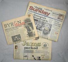 1970 Byron Pop Music Festival Georgia's Woodstock Jams Newspaper Photos Memories