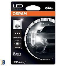 Osram Festoon Cool White 31mm C5W 269 12V LEDriving Interior lighting 6497CW-01B