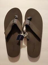 New American Eagle Gray Flip Flops Sandals Men's - Size 10 NWT