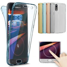 For Huawei P20/P30/Mate 20 Lite 360° Shockproof Full Body Soft Clear Case Cover