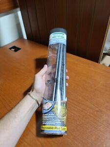 "Shakespeare Travel Fishing Pole Mate rod 6'6"" w reusable rod tube"